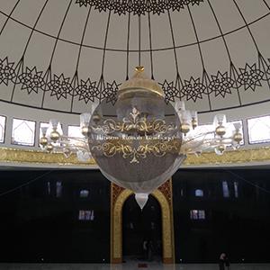 lampu maroko kuningan