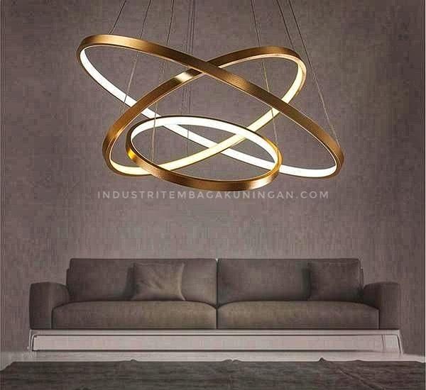 Lampu Tembaga Custom