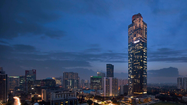 Lampu nabawi Jakarta