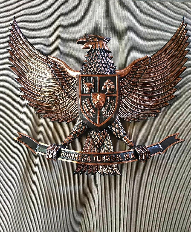 lambang garuda tembaga